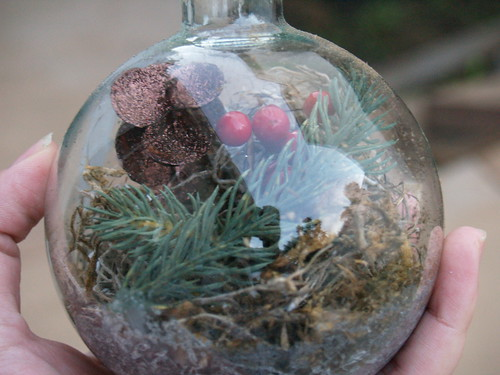 Terrarium Ornament Step 4