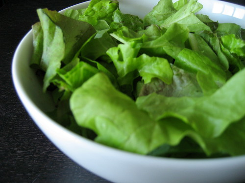 mixed lettuce greens