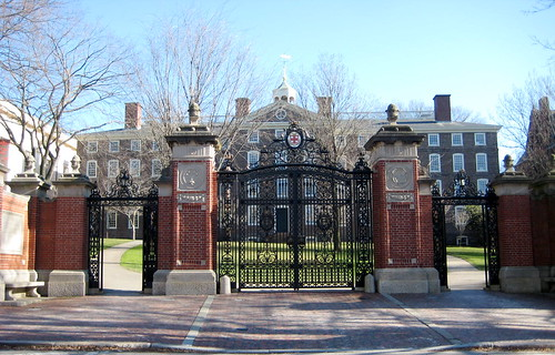 Brown University Van Wickle Gates