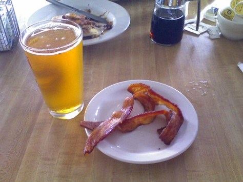 Beer and Bacon for Brunch