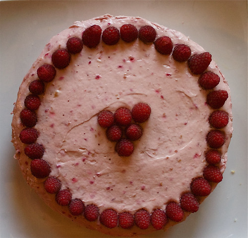 Lorna's gluten-free birthday cake