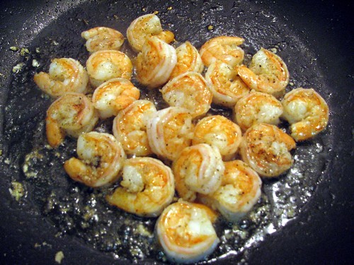 Herbed Tomato Cream & Herb Pasta with Shrimp 1