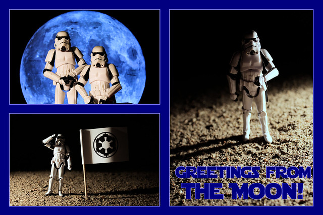 Greetings from the Moon!