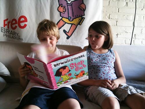 reading Brownie & Pearl...