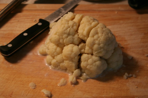 Mmm... brains! (okay, cauliflower)