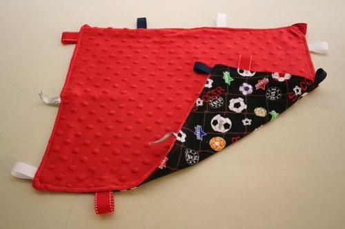 Soccer Tag Blanket