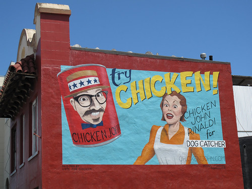 Chicken John Rinaldi For Dog Catcher