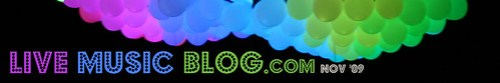 Live Music Blog.com - Nov '09 logo