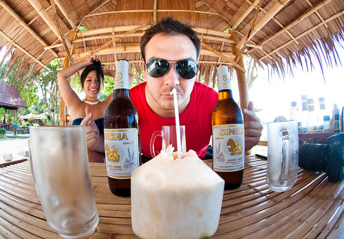 Coconuts and beers