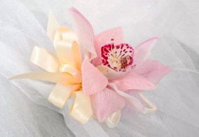 Orchid Corsage - Emily Gorg and Ardith Beveridge, AAF, AIFD, PFCI, CAFA