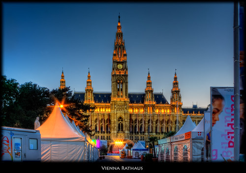 Vienna Rathaus (City Hall)
