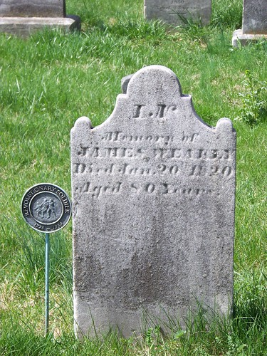 Revolutionary War veterans at Old Carlisle Cemetery (1/6)