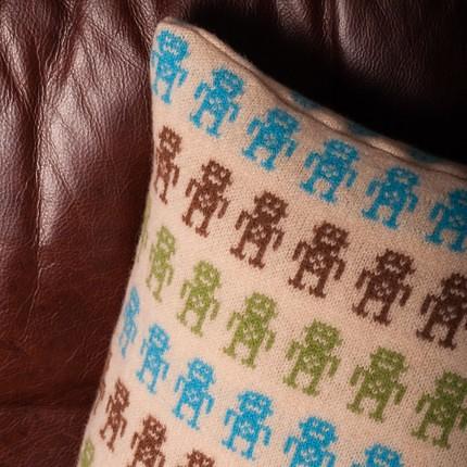 sara carr robot cushion