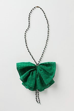 Burst of chiffon necklace by Anthropologie
