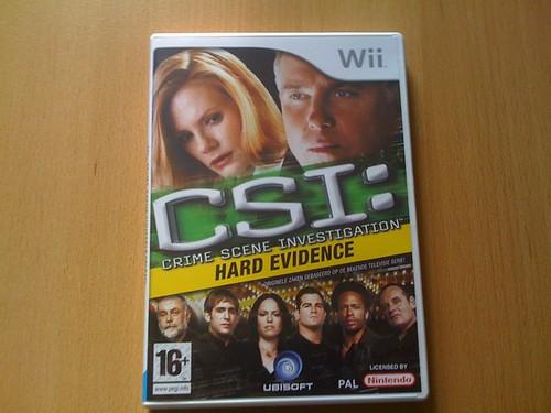 Ook nog Iris-cheques van de baas gekregen voor het jubileren... Mezelf verwend met #CSI voor de #Wii.