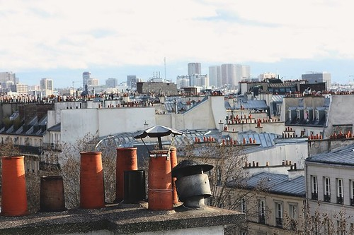 a sunny day in Paris