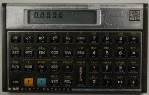 HP 11C Programmable Calculator