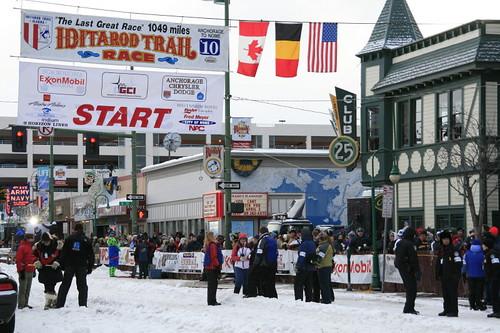 Start line -2010 Iditarod