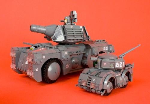 Unmanned Urban Combat Scout Tank - U.C.U.S.T.