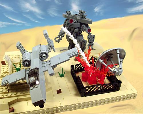 LEGO Terminator Salvation diorama