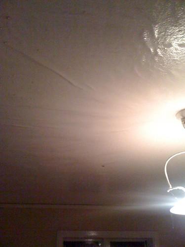 Taket i vardagsrummet
