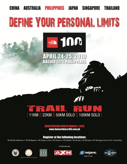 Tne North Face Trail Run Baguio-Benguet