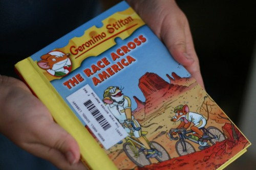 Geronimo Stilton Race Across America