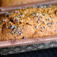 Lavender Pumpkin Bread
