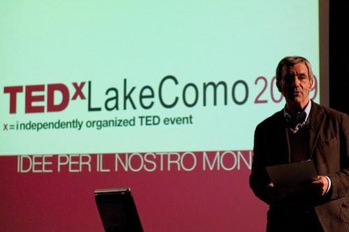 Gerolamo Saibene opens TEDxLakeComo