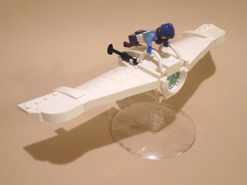 LEGO Nausicaä and Mehve glider