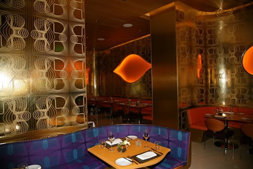 Silk Road Restaurant, Vdara, Designed by Karim Rashid