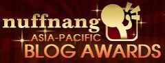 Nuffnang Asia Pacific Blog Awards