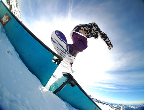 Rock On Snowboard Tour - Analog Rider Hero Rail