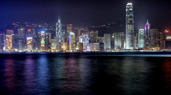 Hong Kong at Night by schaazzz, on Flickr