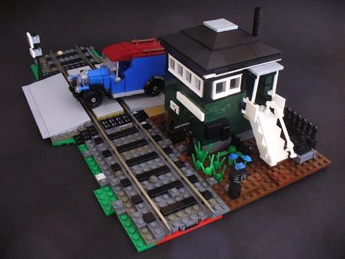 LEGO Signal Box