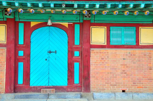 Door, Ganghwa Anglican Church