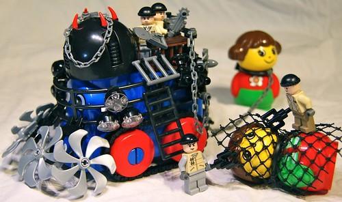 LEGO PRIMO Bart de Dobbelaer primopoc slave transport
