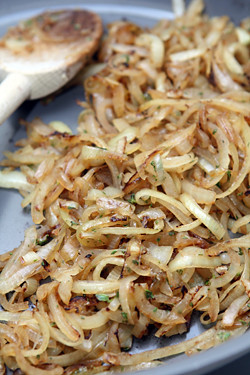cooked onions
