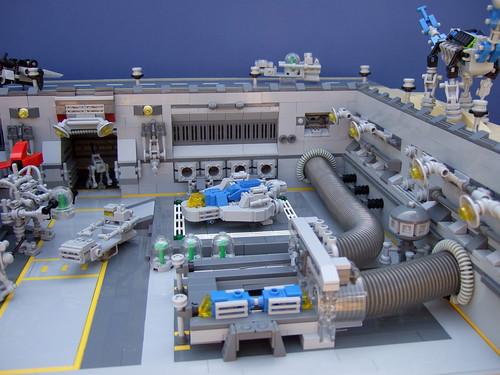 LEGO Classic Space microscale base
