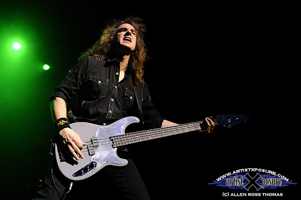 Dave Ellefson Live 2010 with Megadeth