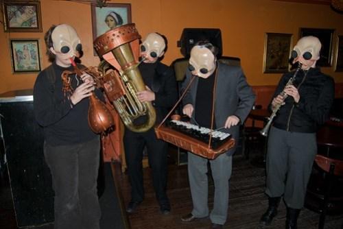 Star Wars Cantina Band, San Francisco Halloween 2009