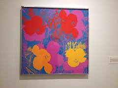 Andy Warhol Flower Silkscreen