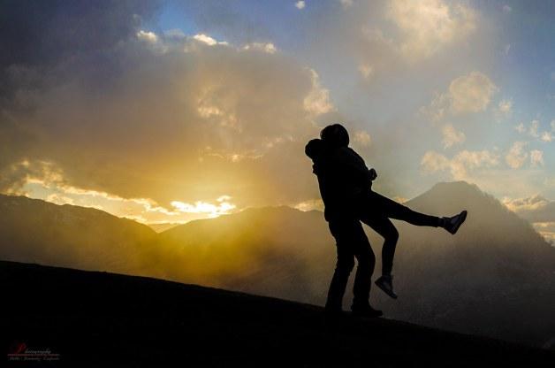 Sunset Hugs