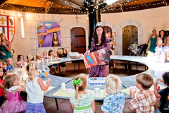 Royal Party in King Arthur's Castle at Fairytale Town