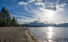 "Beautiful Lake Tahoe Beach • <a style=""font-size:0.8em;"" href=""http://www.flickr.com/photos/41711332@N00/13419887405/"" target=""_blank"">View on Flickr</a>"