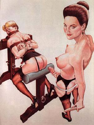 bizarre femdom cartoons