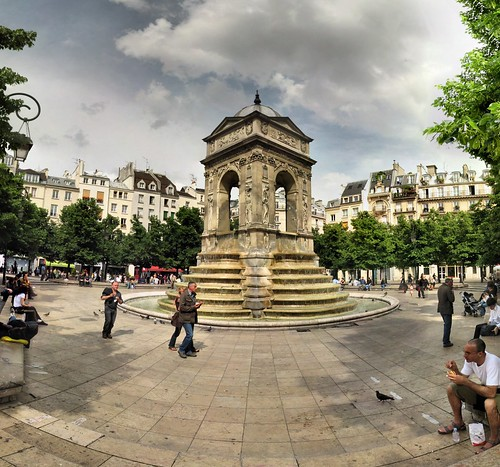 Paris - Fontaine des Innocents - 25-05-2008 - 16h20