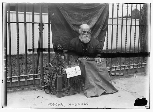 Beggar, Hoboken (LOC)