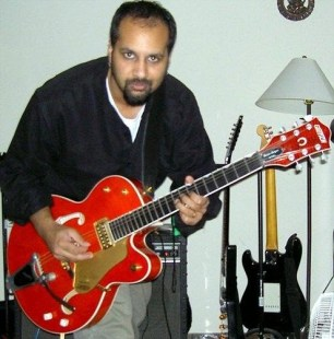 Me and my 1998 Gretsch 6120 SSU - Brian Setzer Signature model