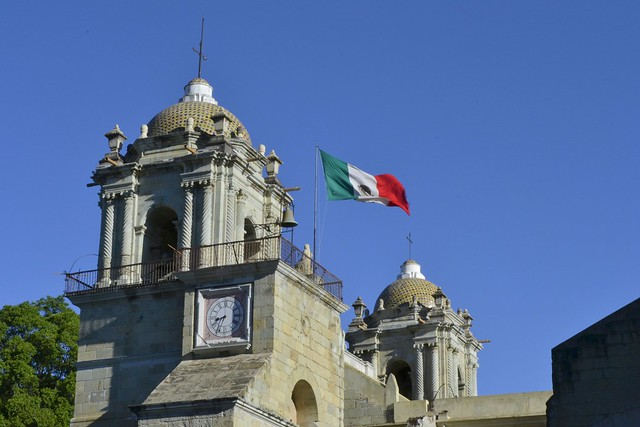 Oaxaca Local Life: Mexican Flag